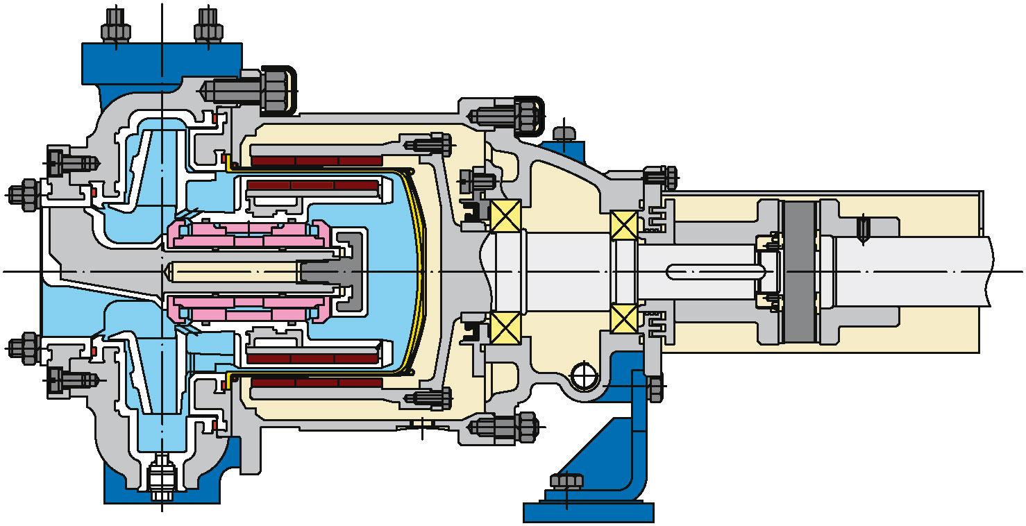 Футерованные электронасосные агрегаты серии ГХ